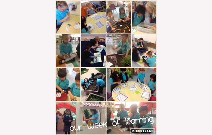 Reception enjoy their week of learning
