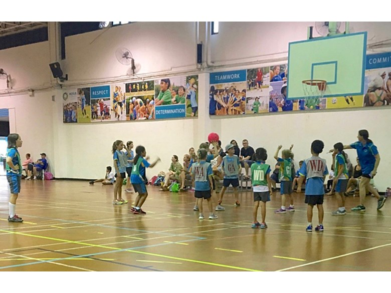 Netball Match at Nexus