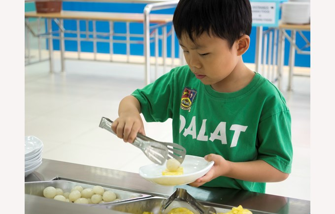 British International School Hanoi - Canteen