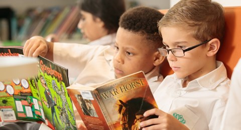 Dover Court International School Singapore encouraging good reading habits