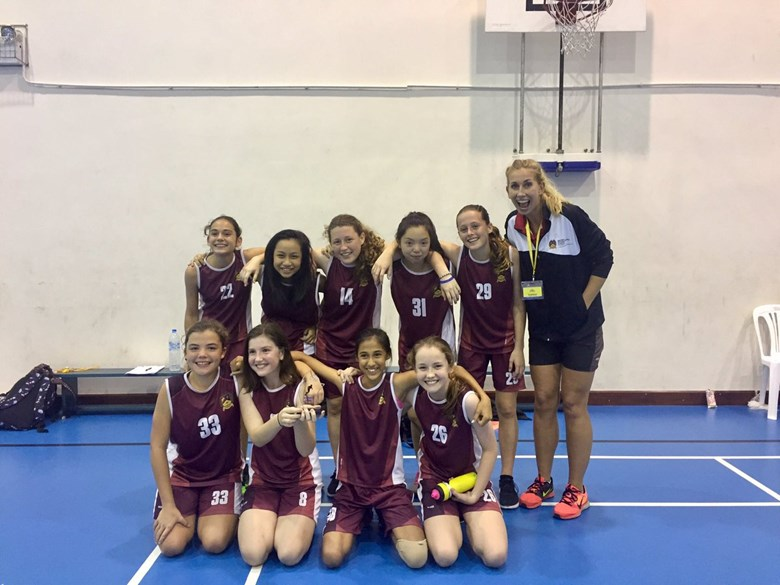 U14 Girls Basketball SISAC Winners