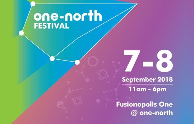 One-North Festival 7-8th September 2018