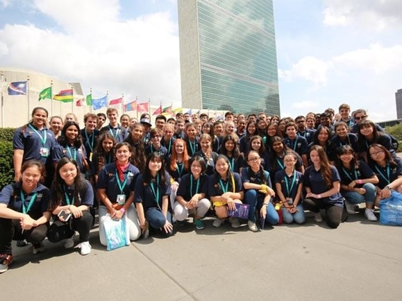 BIS Student ambassadors heading to New York for UNICEF Summit