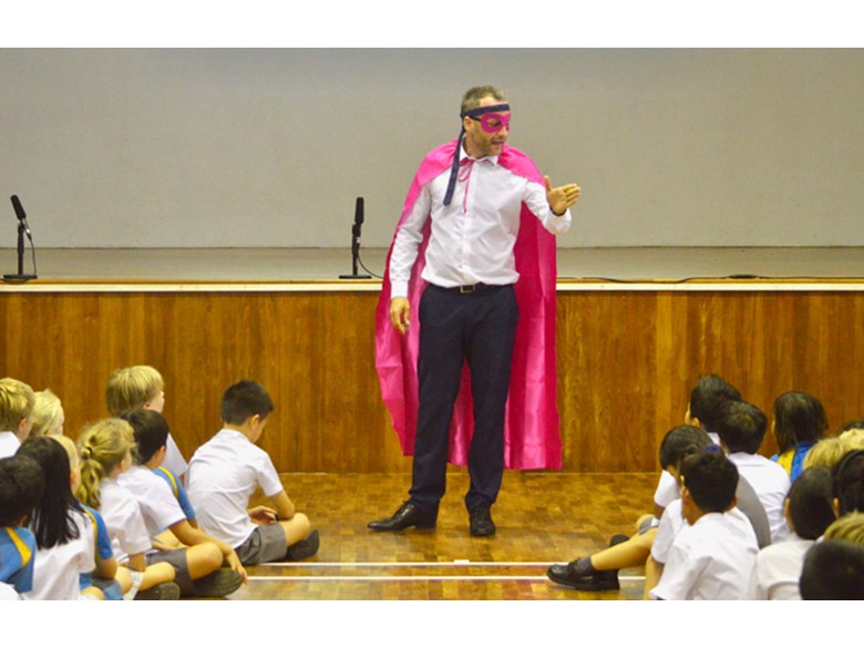 DCIS SLT Vision Super Heroes Assembly