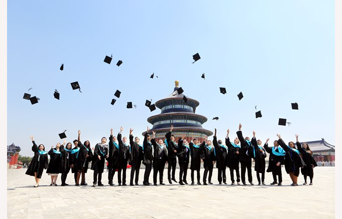 Graduation temple of Heaven 2015