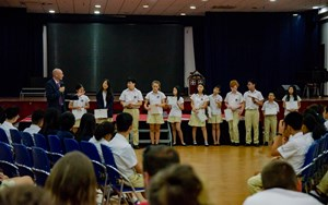 British International School Hanoi Secondary Assembly