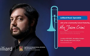 Juilliard alumni Jason Crimi
