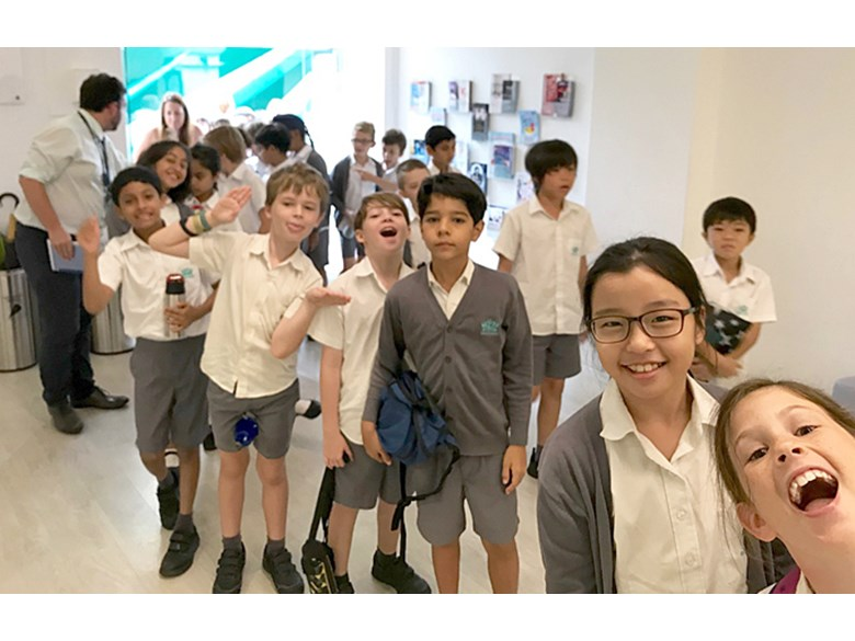 Years 5 and 6 Visits Singapore Repertory Theatre