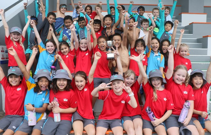 Dover Court International School Singapore,Year 4 House Swim Gala Winners - Jurong