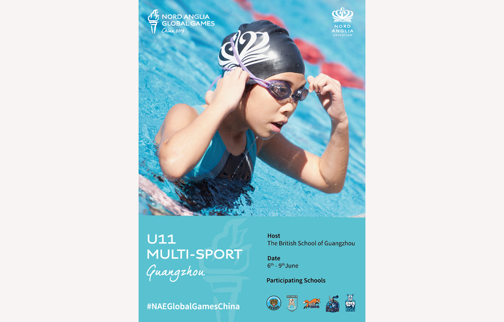 NAE Global Games China U11 2019 Poster