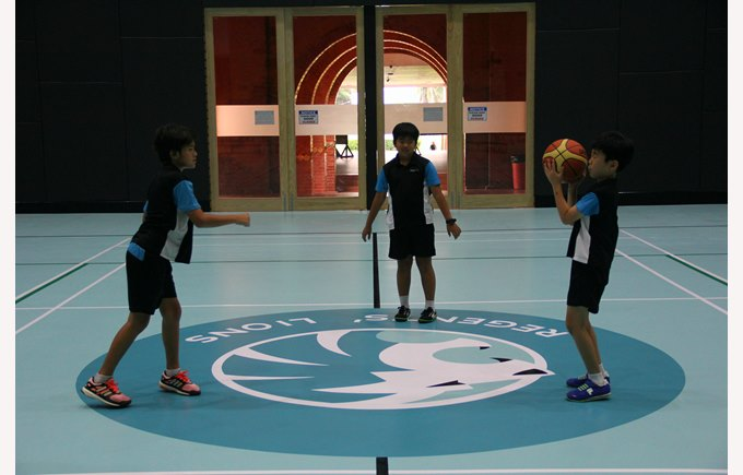 New sports hall | Regents International School Pattaya