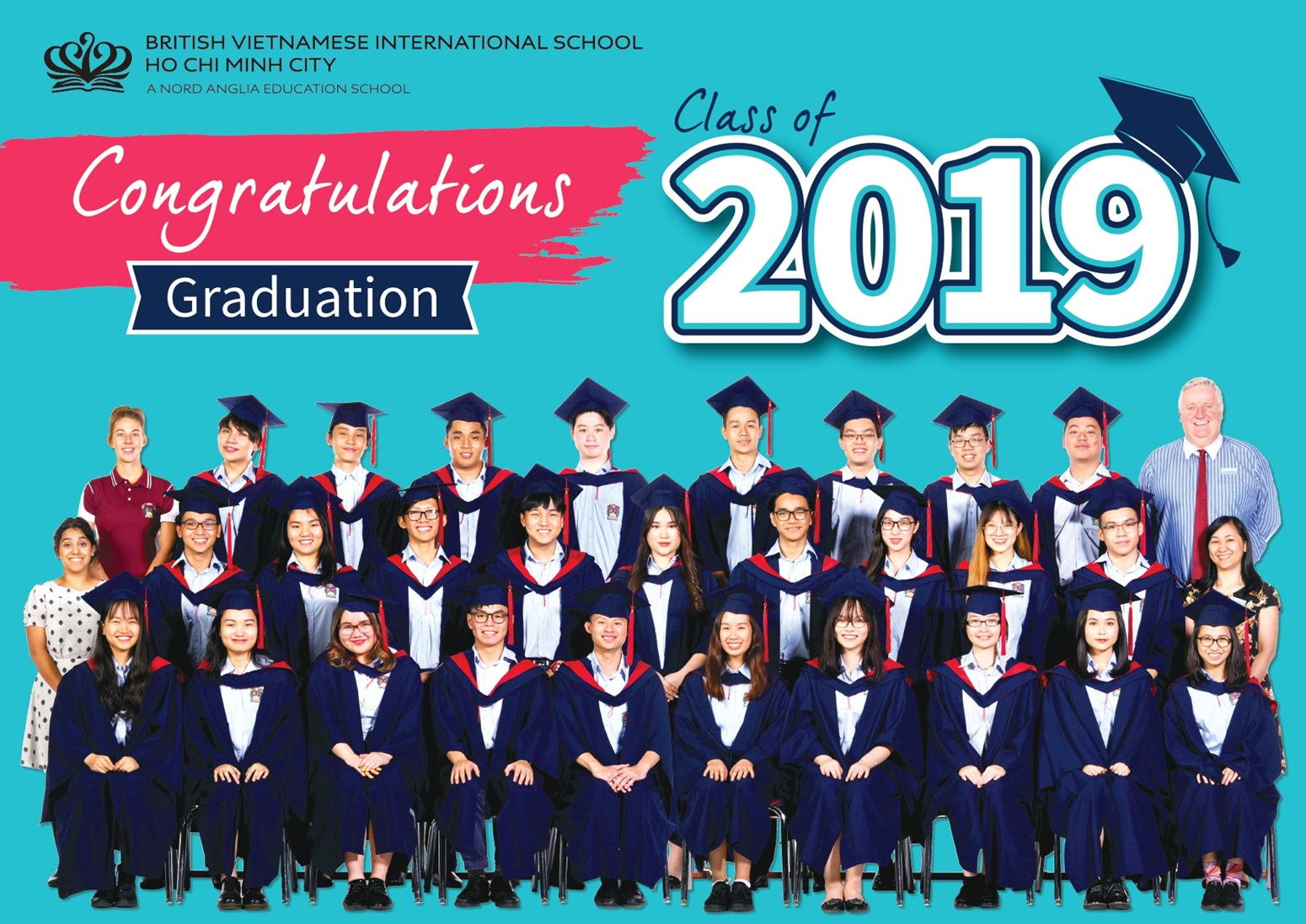 BVIS HCMC Graduation Ceremony 2019