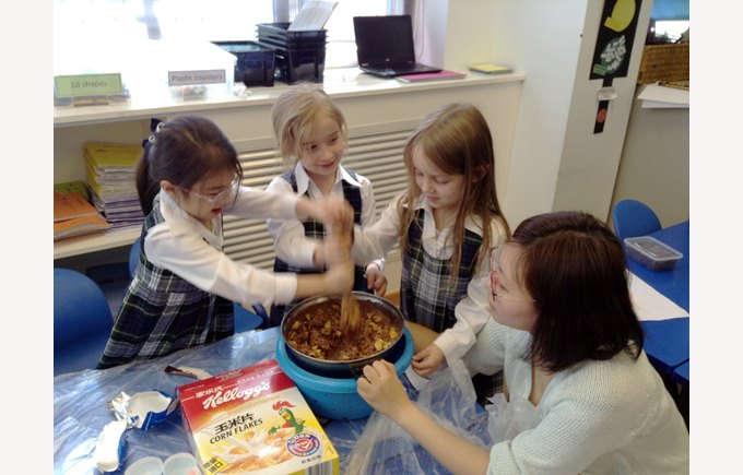 Y2 making chocolate