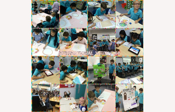 International Week Fun in Year 3