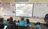 Year 3 Skype Lesson with palaeontologist technician Ian Morrison from the Royal Ontario Museum