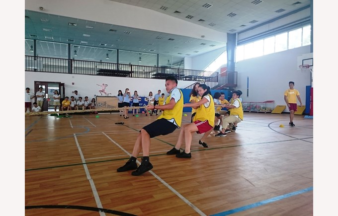 British International School Hanoi tug of war