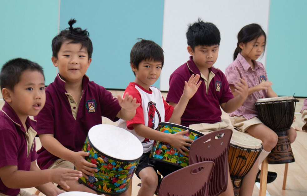 Primary Percussionists