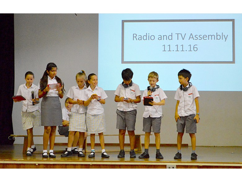Radio and TV Secondary Assembly