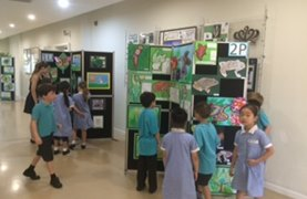 Year 1 and Year 2 Art Work