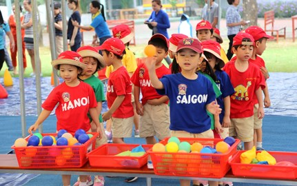 EYFS Sports Morning | BVIS HCMC | Nord Anglia