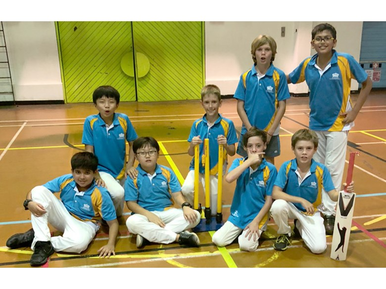 Under 11 Boys Indoor Cricket Team