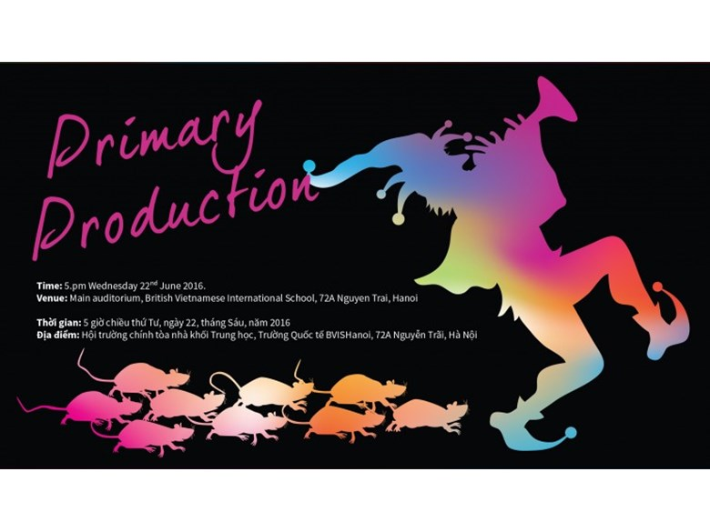 Primary production invitation