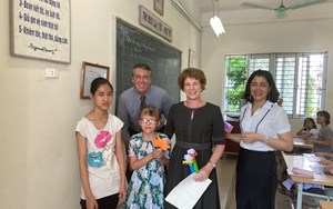 Ms Sue visits Hy Vong