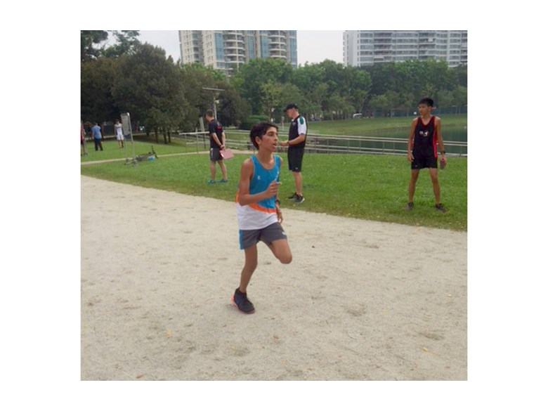 DCIS Students Take part in Senior Cross Country Event at Bedok Reservoir