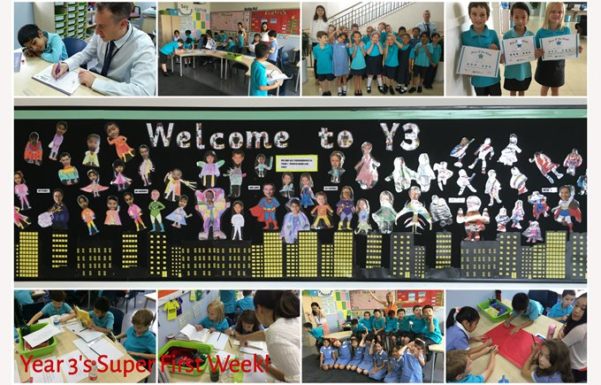 A super first week in Year 3
