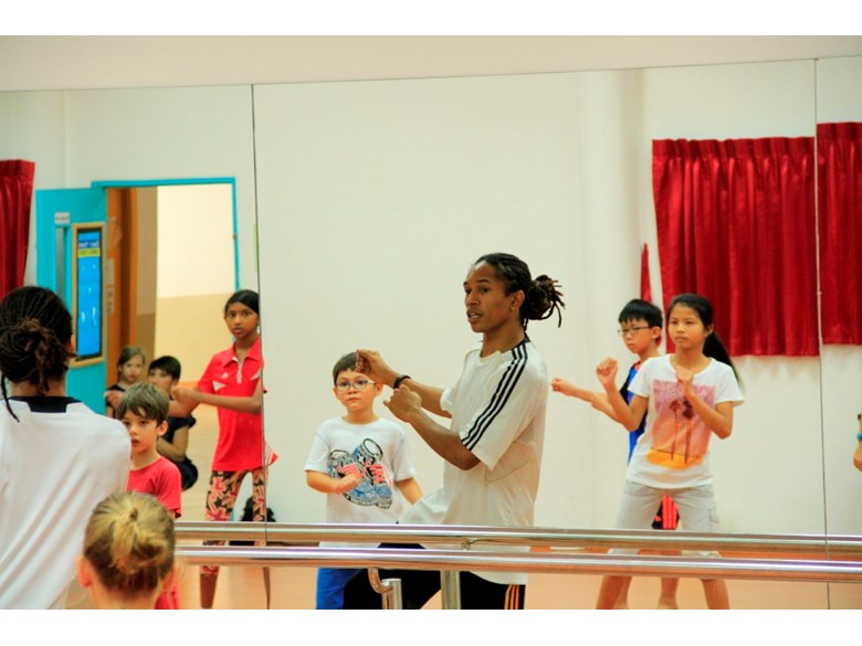 Street dancing classes with Satori Dance | Regents International School Pattaya