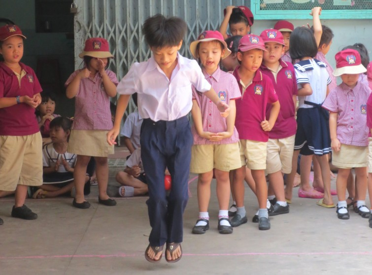 An Phu Primary Community Visit