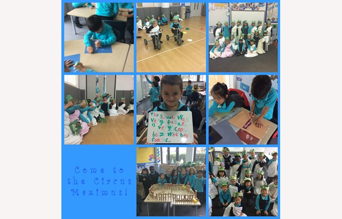 Year 1 goes to the Circus Maximus