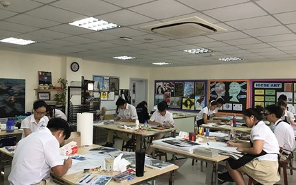 IGCSE Art Exam 2019  BVIS HCMC (7)