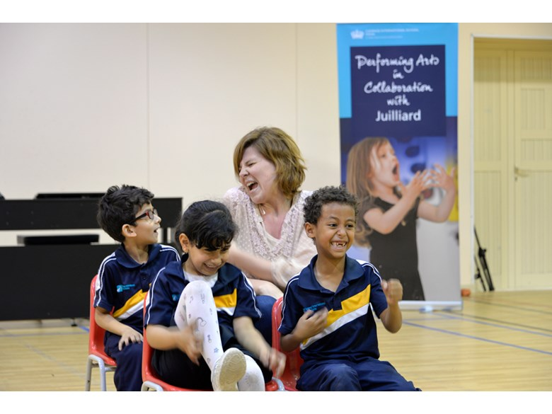Juilliard Workshops at Rayyan
