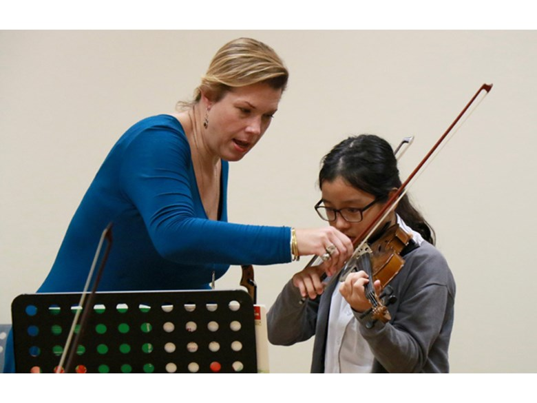 Dover Court International School Singapore, Juilliard Curriculum Specialist Jessica Meyer
