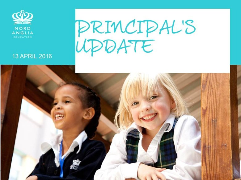 Principal's Update 13th April