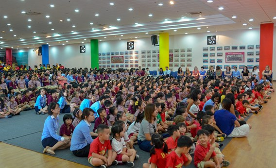 British International School Hanoi End of Year Assembly