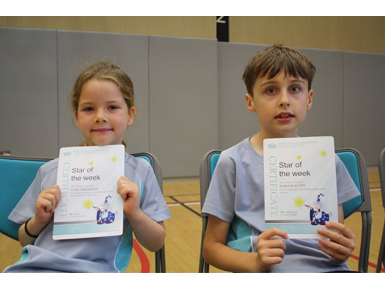 Assembly - Star of the Week - Art - 28 August 2015