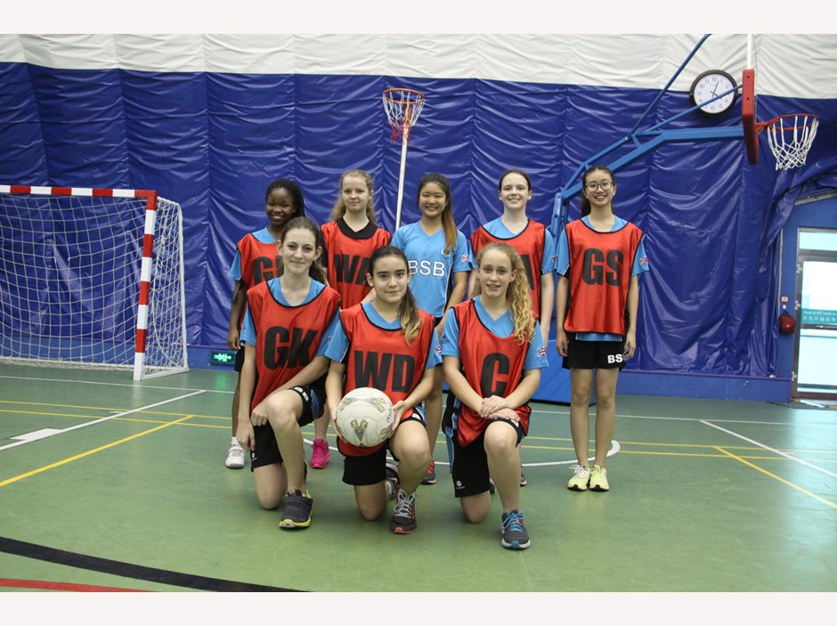 U15 Girls Netball Team 2