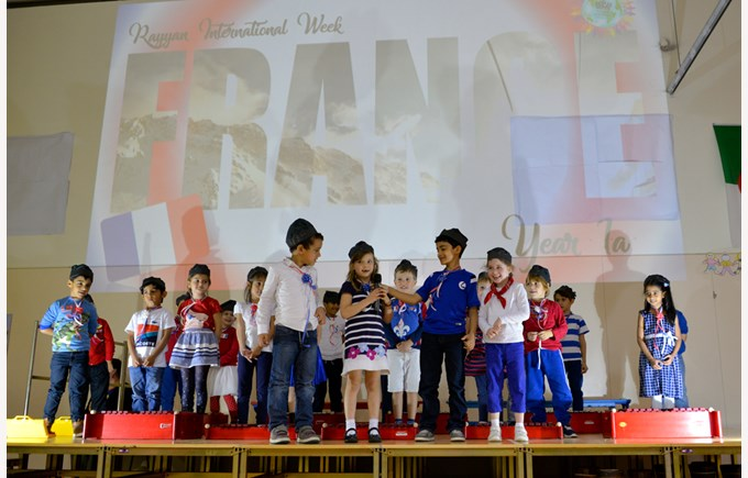 International Week at Rayyan
