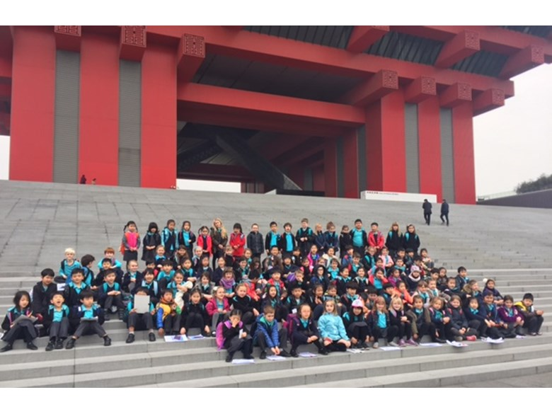 Year 2 Trip to China Art Museum