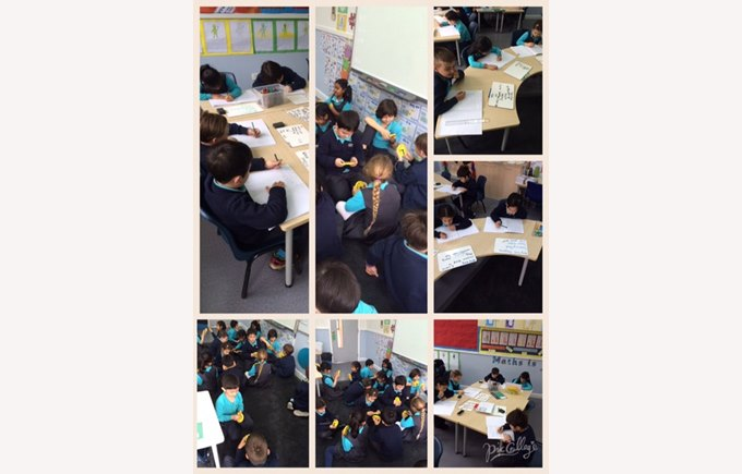 Year 2 working collaboratively