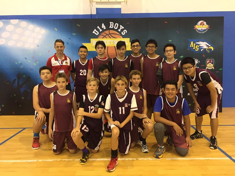 British Intnernational School HCMC U14 Boys Basketball SISAC City Championship Team
