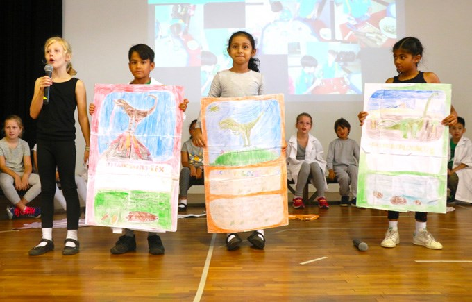 Upper Primary Assembly: Dinosaurs by 3CT and 3JC