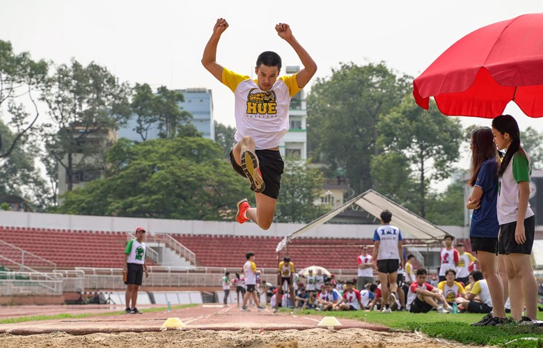BIS HCMC Secondary Sports Day - Long Jump
