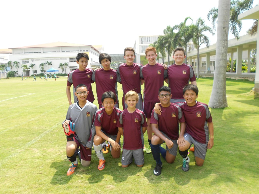 U14 Boys Football SISAC Champions