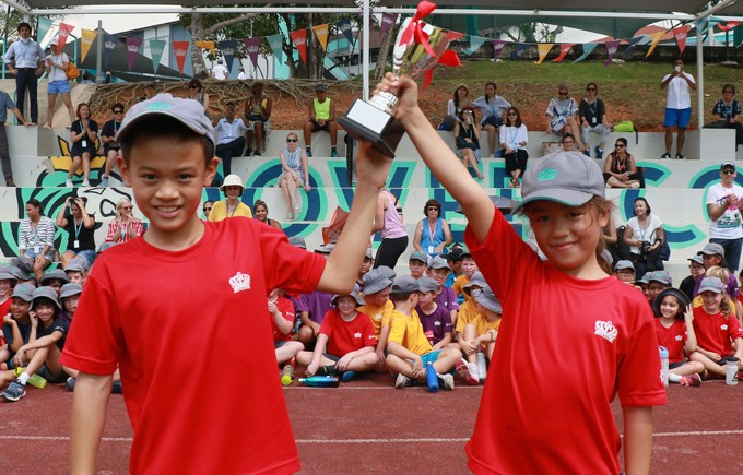 Dover Court International School Singapore, Year 4 Sports Day Winners Jurong