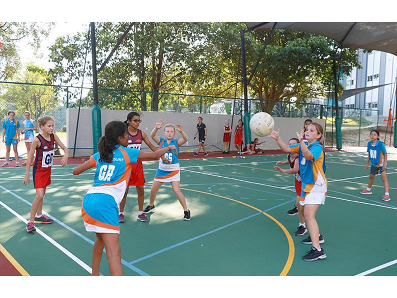 U12 Netball Match vs UWC and TTS