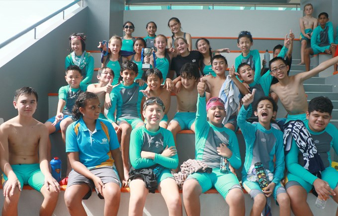 Swim Gala Year 7 Winners Ubin