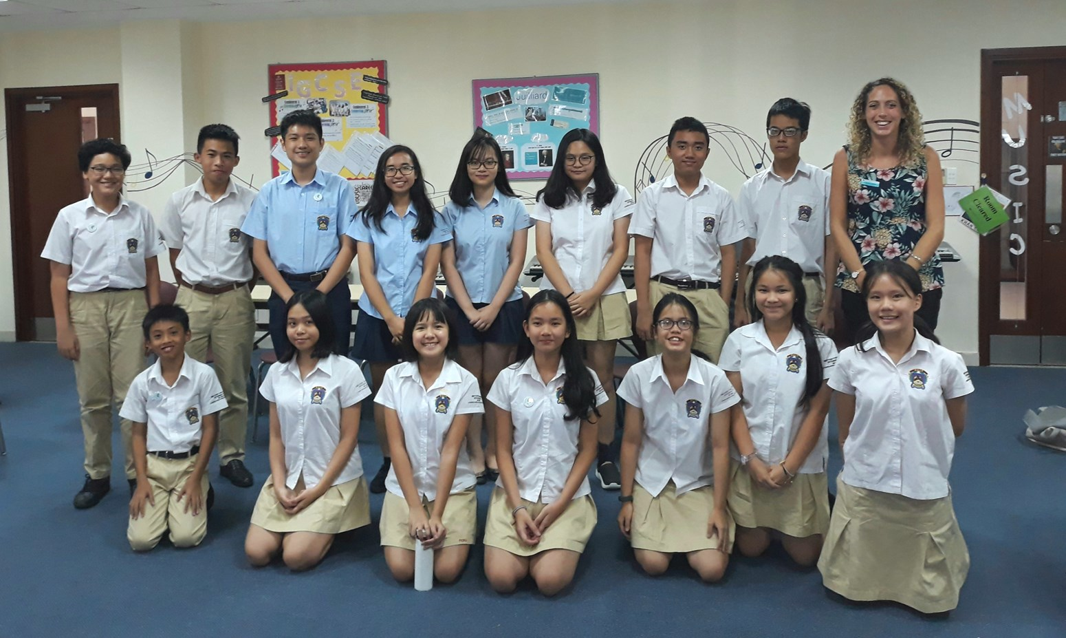 BVIS HCMC Secondary Student Council 2018